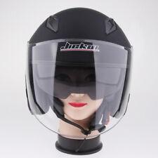 Open Face 3/4 Motorcycle Street Helmet DOT - Pick Size & Color