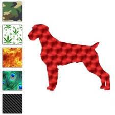 German Wirehaired Pointer Dog Decal Sticker Choose Pattern + Size #1961