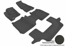 Ford Flex 2009-2016 3-Rows 4 Piece Set KAGU U-ACE 3D Front Floor Liners