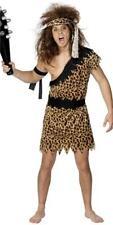 Da Uomo TARZAN Jungle Boy Leopardato Costume Uomo delle Caverne Costume con Fascia per capelli