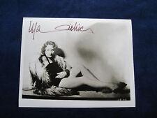 Original SIGNED PHOTO of MARLENE DIETRICH B&W Early 30s