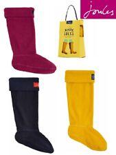 Joules Women/'s Welton Fleece Welly Warmers Berry Blush UK 5//6-7//8