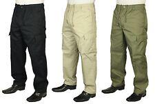 BNWT Carabou Rugby Pantaloni con tasconi Combat Pantaloni Elasticizzati Tg 32 a 48 vendita *