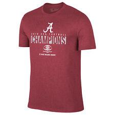 Alabama Crimson Tide 2018 SEC College Football Champions Locker Room T-Shirt