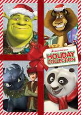 Dreamworks Holiday Collection Shrek Dragon Kung Fu Panda (DVD, 2013, 2-Disc Set)