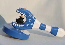 Turbo Spin Hanukkah Dreidel Game Crocodile/Aligator Wooden Wood Star of David