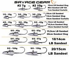 SAVAGE GEAR SANDEEL SARDINE JIG HEADS FOR THE SAVAGE GEAR SANDEELS   crazy price
