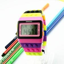 Unisex Women Men Kids Sports Digital Watches Gifts Colorful Digital Wrist Watch