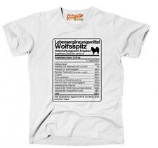 T-Shirt Unisex DOSIS WOLFSSPITZ Lebensergänzungsmittel by Siviwonder