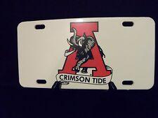 Alabama Crimson Tide License Plates - 4 Styles - Hard Plastic
