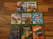 Xbox One Spiele z.B. Battlefield, Dirt 4, Lego, Forza, Skyrim, Rayman, Fifa,...