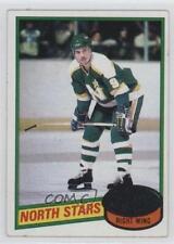 1980-81 Topps #192 Ron Zanussi Minnesota North Stars Hockey Card