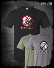 NFL Boycott T-Shirt Stand For The Anthem I Don't Kneel No Fans Left Patriotic