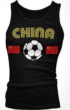 China National Soccer Team Chinese Team Dragon Football Boy Beater Tank Top