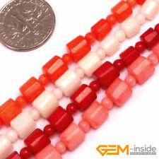 """8 mm Piedras preciosas Naturales Mar Coral Rosa Redonda de Japón suelta granos 15/"""" PL312"""