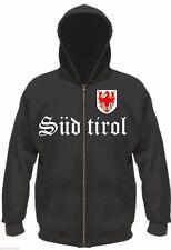 El Tirol del Sur Sospechosovarón/sweatjacke-m hasta XXL-chaqueta de Bolzano Tirol Hoodie Merano