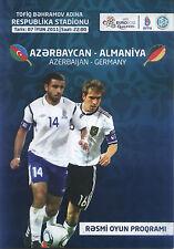 EM-Qualifikation 07.06.2011 Aserbaidschan / Azerbaijan - Deutschland in Baku