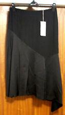 M&S Per Una Sizes 10 12 14 16 18 22 Asymmetric Hem Skirt Bnwt Black
