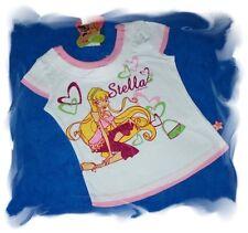 MERAVIGLIOSA WINX CLUB T-SHIRT Spaghetti Top shirts estate ragazze TGL 104-116