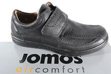 jomos Mocassins Chaussures basses femme noir cuir semelle amovible pour