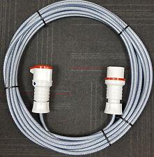 415V 16A Three Phase 5 Pin Extension - BS4343 5 Pin Plug, Socket & SY Cable.