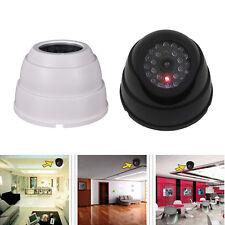 1x Dummy Dome Shape CCTV Security Camera With LED Fake Motion Detection Sensor
