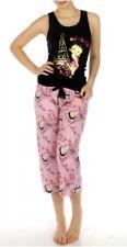 """Betty Boop """"Oh La La"""" Capri Pajama Set, Cotton, S, L, XL"""