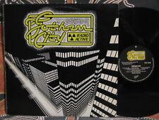 GOTHAM CITY Radio Active ~ RARE 1982 Oz Indie Rock LP