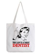 Dentist Ladies Tote Bag Shopper Best Gift Great Dental Work Dentistry Job Cool