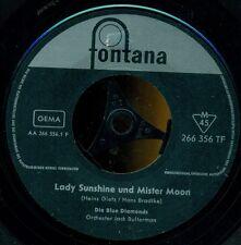 "BLUE DIAMONDS - LADY SUNSHINE UND MISTER MOON / ANGELINA 7"" SINGLE (E419)"