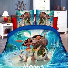 Single/King Single Size Bed Quilt/Doona/Duvet Cover Set Pillow Case Moana Blue
