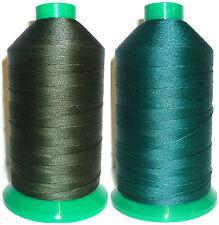 resistente fissato NYLON FILO 20, 1500mtr, Somac Thread, SCEGLIERE Cols