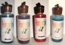 8 oz printer ink refill 2 oz black cyan magenta yellow