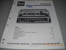 Dual KA30 Service Manual