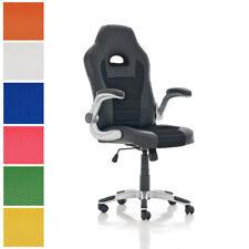 Fauteuil de bureau JOHN chaise ordinateur pivotant roulettes accoudoirs réglable