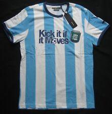 Blend T-shirt Argentina 10 BLU-BIANCO TAGLIA L taglia XL