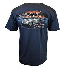 CHEVROLET Stingray Mens Tee T Shirt American Muscle Vintage Car Logo Racing SS
