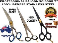 "NEW 7"" Hairdressing Hair cutting stainless steel Scissors Shears Barber Salon"