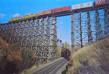 Old Railroad Trestle, Train picture in near Lewiston Idaho