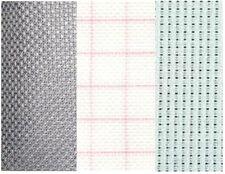 14ct,18ct Aida cut to size, Zweigart white,black, antique white, DMC magic guide