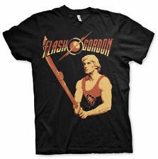 Officially Licensed Flash Gordon- Flash Gordon Retro Men's T-Shirt S-XXL Sizes