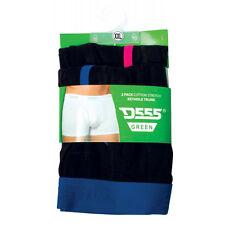 Duke D555 Mens Kingsize Keyhole 2 Pack Boxer Shorts, Sizes 1XL - 4XL . BNWT