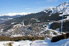 Meribel 3 Valleys ski Trois Vallees French Alps France photograph picture print
