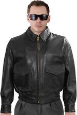 G1 Police Leather CHP Bomber On Duty Uniform Jacket