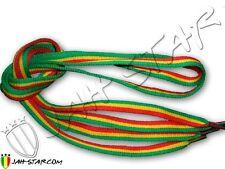 Paire de Lacets Rasta ShoeLace Reggae Rastafari Jamaica Jah Star 110cm