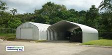 Steel Factory P20x22x12 Metal Garage Storage Building Kit Corrugated Panels