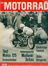 Motorrad 23 67 Maico MD 125 Minarelli MV Agusta Laverda 1967 Italien Deutschland