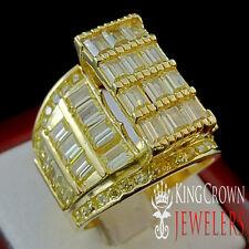 WOMENS REAL SILVER PRINCESS CUT LAB DIAMOND ENGAGEMENT BRIDAL WEDDING RING BAND