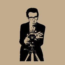 Elvis Costello T Shirt retro pub rock, new wave musict Get Happy!