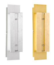 Wofi Wandleuchte Arlon in gold oder silber Wandlampe Flurlampe Wohnzimmer-Lampe